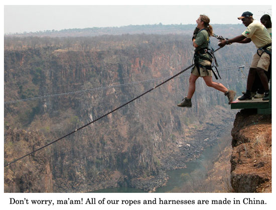 ropes and harnesses