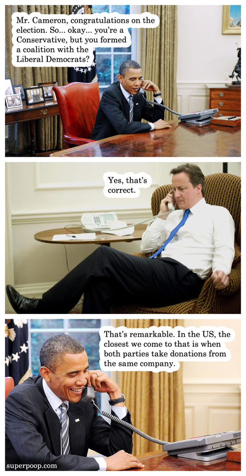 obama congratulates cameron