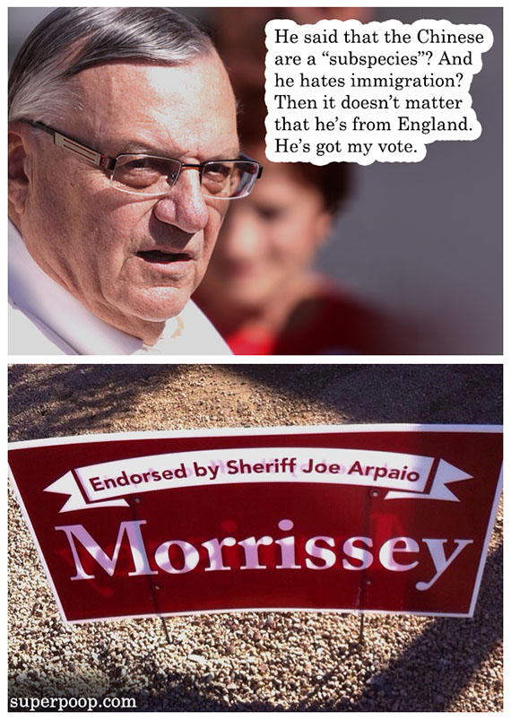 endorsed by sheriff joe