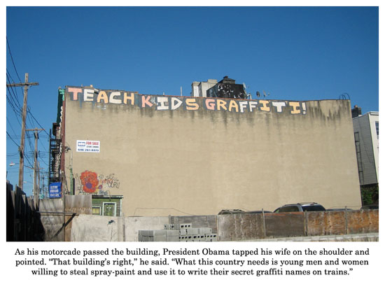 teach kids graffiti