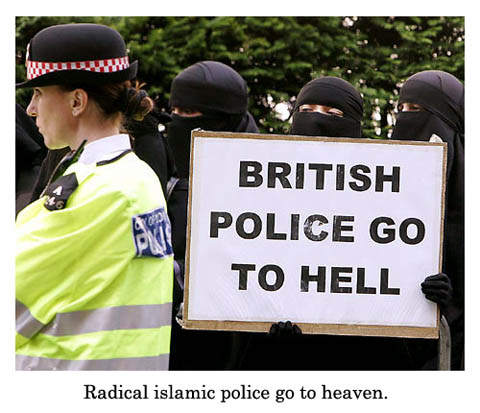 british police go to hell