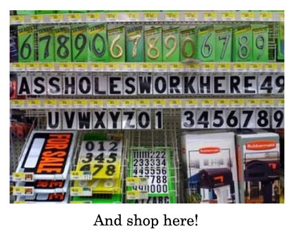 assholes shop here