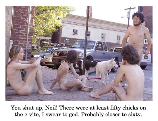 shut up neil