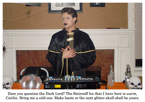 dj dark lord featuring smirnoff ice